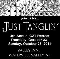 Just Tanglin' Annual Retreat for CZTs and Avid Tanglers